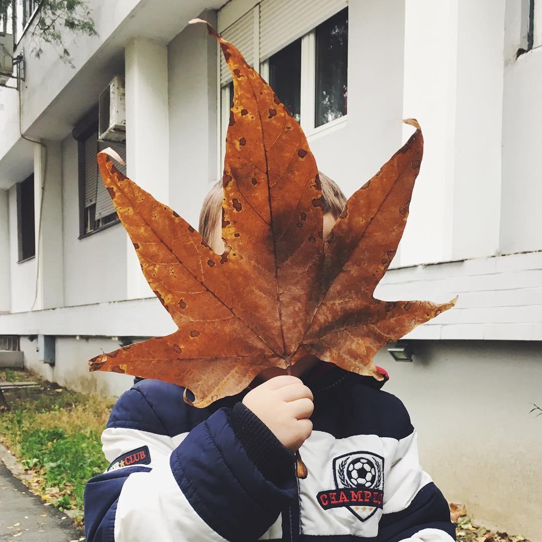 Jesen na mojoj faci je novi jesen u mom kraju